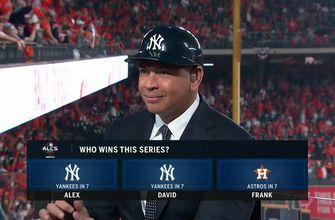 A-Rod, Big Papi pick Yankees to top Astros in star-studded ALCS