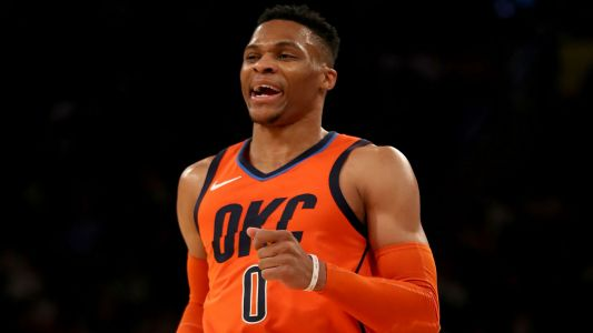 Russell Westbrook sets NBA record with 10 consecutive triple-doubles