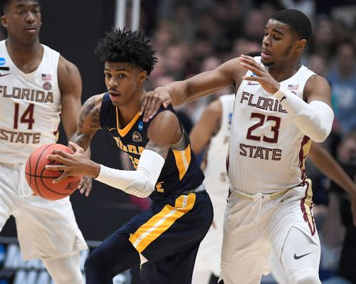 Morant's breakout season ends with blowout by Florida State