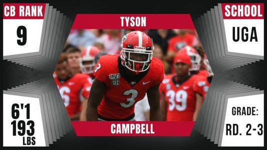 Jaguars select Tyson Campbell with 1st pick of 2nd round