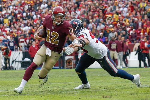 Theismann 'turned away' after seeing Redskins QB Smith hurt