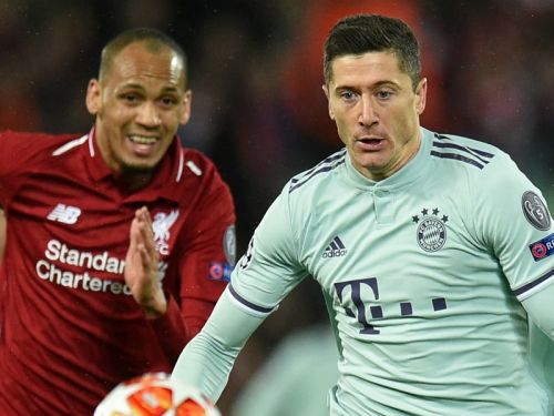 Fabinho silences Lewandowski as Van Dijk-less Liverpool leave it all to play for in Munich