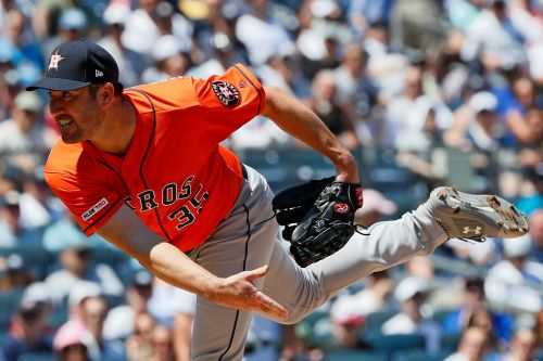 Justin Verlander already preparing for playoff date with Yankees