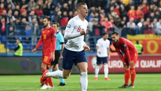 England rally past Montenegro with Ross Barkley double