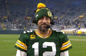 Aaron Rodgers: 'This feels really good right now' as Packers advance to NFC Championship Game