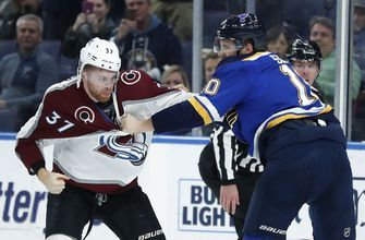 O'Reilly scores short-handed in OT, Blues beat Avs 4-3