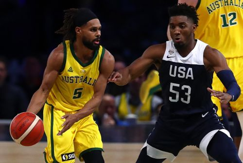 Patty Mills Leads Australia Past Team USA in World Cup Exhibition Game 🇦🇺