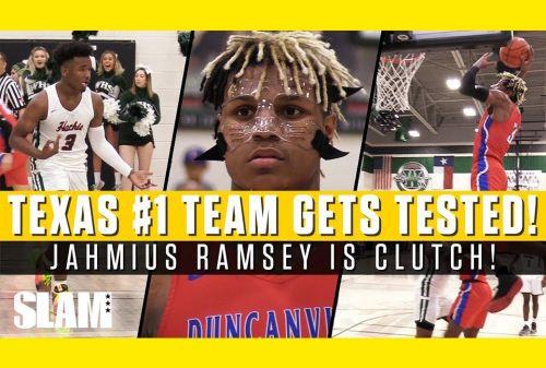 Jahmius Ramsey and 1 Ranked Texas Squad Get Tested in Playoffs! 😤