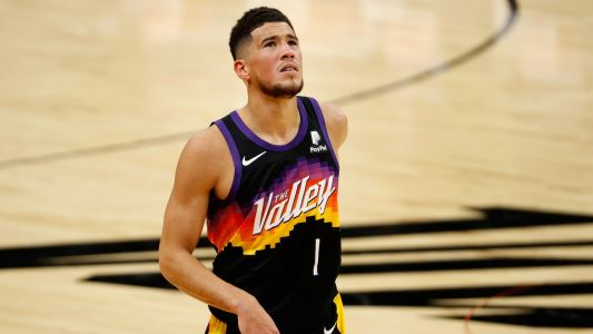 LeBron James, NBA players stunned by Devin Booker All-Star snub: 'Most disrespected player in our league'