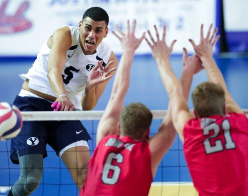 No. 4 BYU men's volleyball unbeaten start continues with five-set win at Penn State