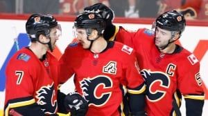 Backlund leads Flames to easy victory over Kings