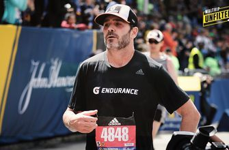 Michael Waltrip is really proud of Jimmie Johnson running the Boston Marathon
