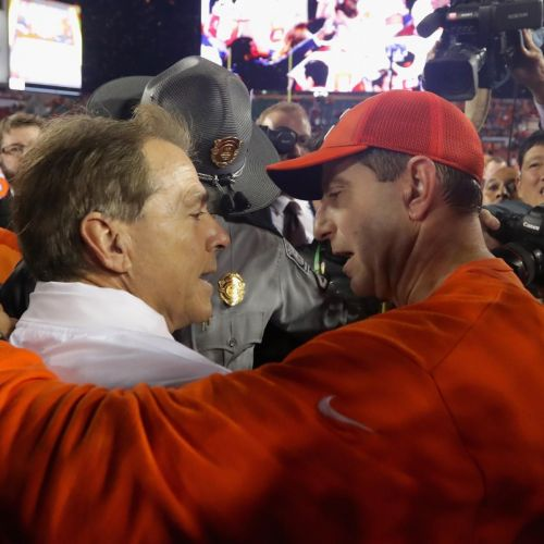 Adam Kramer on College Football: Is Alabama-Clemson 3.0 Inevitable?