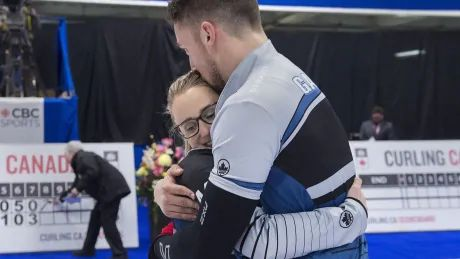 For the love of curling : Peterman, Gallant eye gold at mixed doubles worlds