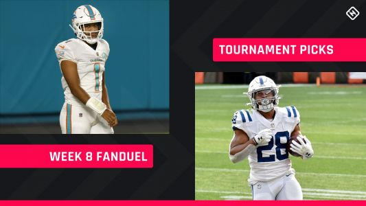 Week 8 FanDuel Picks: NFL DFS lineup advice for daily fantasy football GPP tournaments