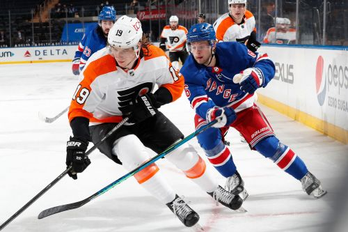 Rangers can't catch Flyers as playoff gap widens
