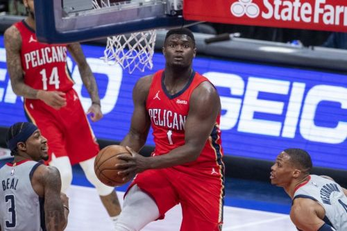 Pelicans blame Zion Williamson's finger injury on NBA officiating