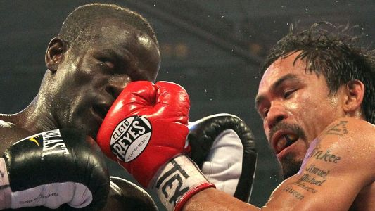 Joshua Clottey reveals why he didn't throw punches against Pacquiao