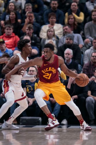 Evans scores 23 points to lead Pacers past Heat 99-91