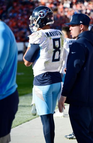 Tennessee Titans bench Marcus Mariota, turn to Ryan Tannehill vs. Denver Broncos