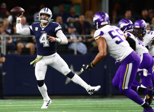 Cowboys' comeback bid against Vikings falls flat in final minute