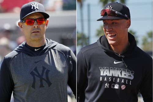 Yankees' Aaron Boone shuts down call for Aaron Judge position change