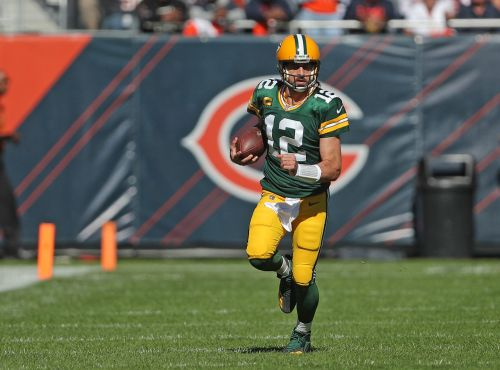 Green Bay Packers QB Aaron Rodgers yells at Chicago Bears after touchdown: 'I still own you!'