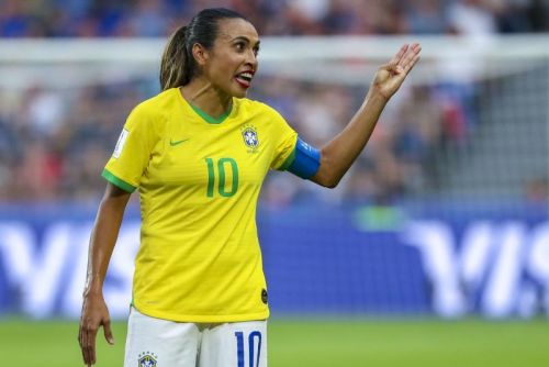 Watch: Brazil's Marta gives farewell message at Women's World Cup