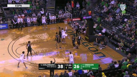 Highlights: No. 17 Oregon men's basketball surges late to top No. 16 Colorado and remain undefeated at home