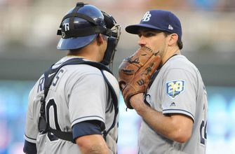 Nathan Eovaldi chased in 3rd, Rays drop second straight to Twins