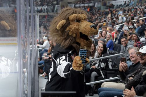 LA Kings' mascot accused of sexually harassing ice crew member