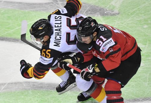 Stone hat trick helps Canada cruise past Germany at world hockey championship