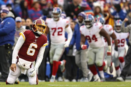 Mark Sanchez, Redskins crater in blowout loss to Giants at home