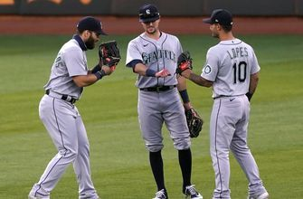 Mariners crush Athletics, 12-3, as seven different hitters drive in a run