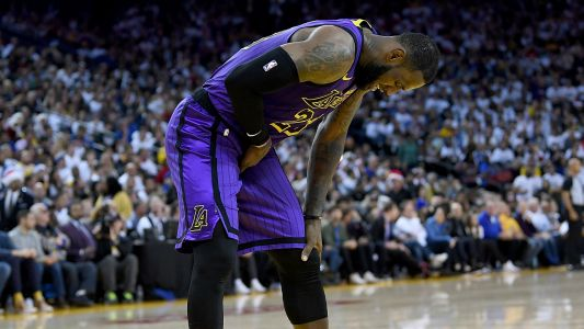 Lakers are 'a little concerned' about Lebron James' health, report says