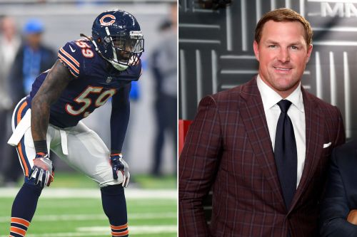 Bears star calls out Jason Witten for mispronouncing his name