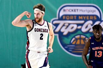 No. 1 Gonzaga handles Auburn thanks to Drew Timme's 28-point performance
