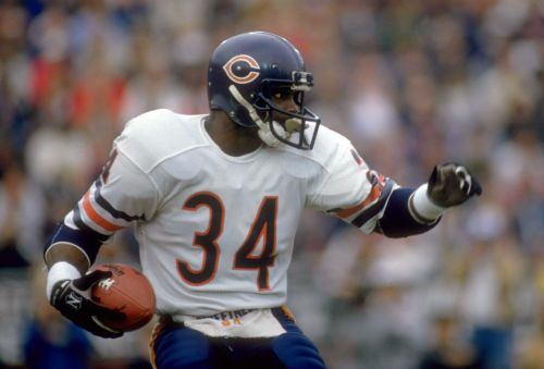 Every NFL team's all-time leading rusher, ranked by total yardage