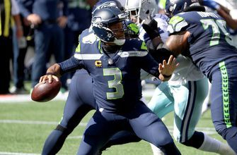 Russell Wilson throws five more touchdowns as Seahawks survive Cowboys comeback, 38-31