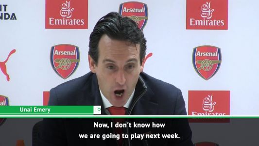 'I don't know how we're going to play next week' - Emery on defensive problems