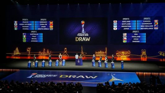 Women's World Cup: Favorable draw for U.S