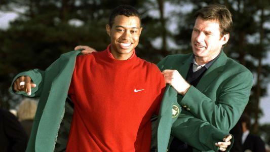 Remembering Tiger Woods' incredible first Masters triumph
