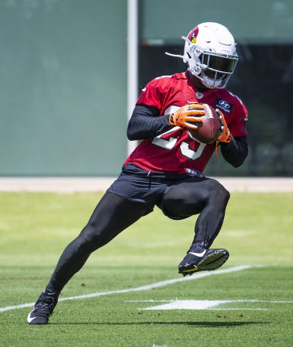 'Confident' Chase Edmonds excited to see how he's used in second year with Cardinals