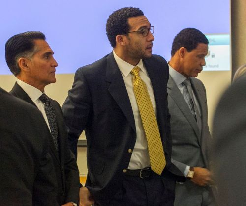 Ex-NFL star Kellen Winslow's rape trial: Witness refuses to look at 'rapist' in court