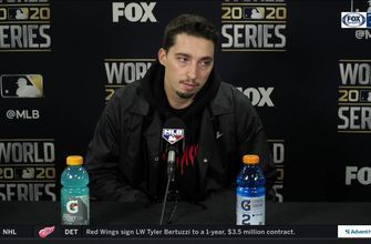 Rays starter Blake Snell talks his 9 strikeout performance, World Series loss to Dodgers