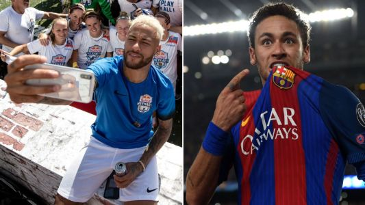 Neymar Names Beating PSG 6-1 with Barcelona Among Favourite Football Memories