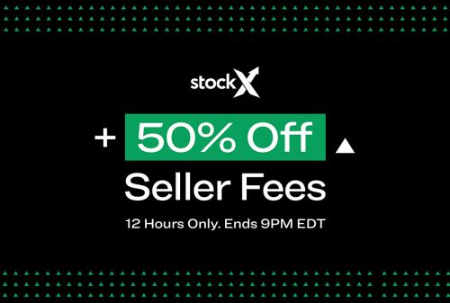 StockX Offers 50% Off Seller Fees During Fall 🍂