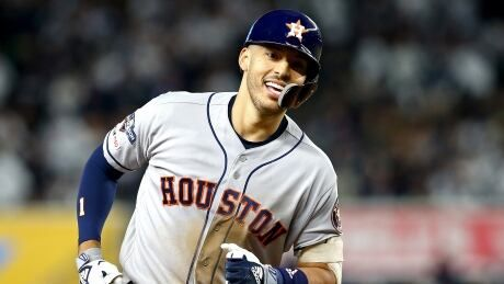 Astros brush aside mistake-prone Yankees to move within 1 win of World Series