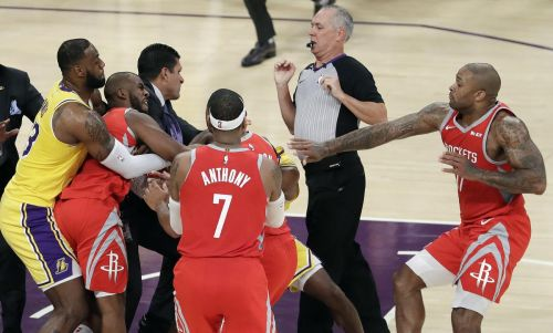 Ingram, Rondo, Paul suspended after Lakers-Rockets scrap
