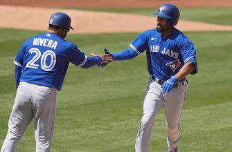 Marcus Semien goes 4-for-6 with a home run against former team, Blue Jays down Athletics, 10-4